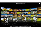 Bild: CyberLink MediaShow präsentiert Bilder und Filme in einem hübschen Filmstreifen.