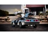 Bild: Der DeLorean kehrt als Elektroauto zurück.