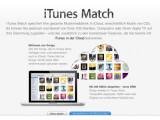 Bild: Auch deutsche Nutzer können ab sofort iTunes Match kaufen.