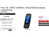 Bild: Im deutschen Online-Shop von HP kann das Pre3 für rund 350 Euro vorbestellt werden.