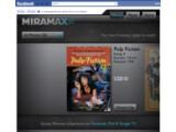 Bild: In Deutschland können die Filme über Miramax eXperience noch nicht ausgeliehen werden.