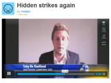 Bild: Der Diebstahl von Joshua Kaufmans MacBook brachte der Software Hidden kostenlose Werbung.