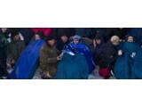 Bild: Drei Astronauten sind sicher in Kasachstan gelandet.