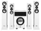Bild: In den drei Hochglanzvarianten Schwarz, Weiß und Titan erhältlich: Cantons Karat-Set.