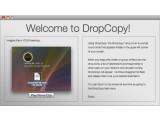 Bild: DropCopy funktioniert wie AirDrop und unterstützt sogar noch das alte Mac OS X 10.4.