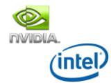 Bild: Einigung: Intel und Nvidia haben ein neues Lizenzabkommen unterschrieben.
