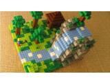Bild: Einer der Entwürfe auf Lego Cusoo könnte es zu einem richtigen Lego Minecraft-Modell bringen.
