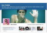 Bild: Die Facebook Chronik steht als alternatives Layout zur Verfügung.