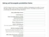 Bild: Facebook stellt dieses Formular für einen Antrag auf Daten-Einsicht bereit.