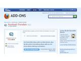 Bild: Facebook Translate kann als Firefox-Plugin im Browser installiert werden.