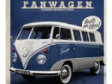 Bild: Der Fanwagen entspricht dem klassischen Design des T1 VW Busses.