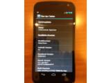 Bild: Das Galaxy Nexus ist das erste Handy mit Android 4.0.