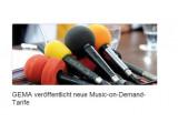 Bild: Die GEMA hat einen neuen Tarif für kostenlose Streamingdienste veröffentlicht.