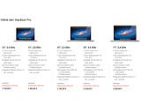 Bild: Gleicher Preis, leicht veränderte Ausstattung: Apple hat die MacBook Pro-Reihe aktualisiert.