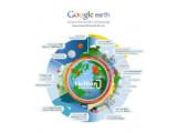 Bild: Google Earth feiert Jubiläum. Die Software wurde eine Milliarde Mal herunergeladen.