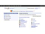 Bild: Google Groups ist eine der ersten Übernahmen des jungen Suchkonzerns.