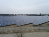 Bild: Google investiert in einen deutschen Solarpark.