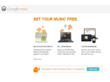 Bild: Google Music verlässt die Beta-Phase und bietet nun auch einen MP3-Shop.