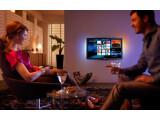 Bild: Die Größe des Fernsehers sollte von der Sitzposition im Wohnzimmer abhängig gemacht werden.