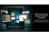 Bild: Das HP TouchPad scheint im Online-Shop von HP Deutschland ausverkauft zu sein.