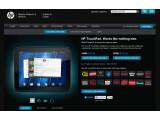 Bild: HP verkauft sein Tablet TouchPad zu Billigpreisen in seinem Online-Einkaufsladen.