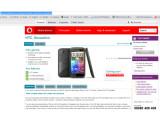 Bild: Das HTC Sensation war bereits kurzzeitig auf der britischen Vodafone-Seite zu sehen.