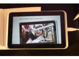 Bild: Das HTC-Tablet lässt sich auch mittels Stift bedienen.