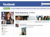 Bild: Auf ihrem Facebook-Profil gibt Sie sich noch ganz mit dem Unternehmen verbunden, tatsächlich gehen Radin Zuckerberg und Facebook künftig getrennte Wege.