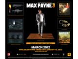 Bild: Der Inhalt der Max Payne 3 Special Edition auf einen Blick.