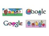 Bild: Insgesamt 16 Doodle zeigt Google anlässlich des 76. Geburtstags vom Kinderbuchautor Hargreaves.