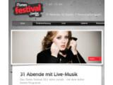 Bild: Insgesamt 62 Künstler treten beim iTunes Festival in London auf.