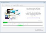 Bild: Bei der Installation von WebMatrix werden etwa 50 Megabyte aus dem Netz geladen.