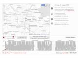 Bild: Eine interaktive Karte zeigt Bewegungsprofile des Grünen-Politikers Malte Spitz.