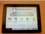 Bild: iPads zeigen im Apple Store nun zu allen Produkten weiterführende Informationen an.