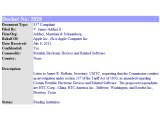 Bild: Der ITC liegt eine neue Klage von Apple gegen HTC vor.