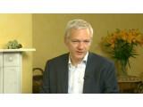 Bild: Julian Assange nahm auf der IFA per Videobotschaft Stellung zu den Vorwürfen gegen Wikileaks.