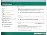 Bild: Kaspersky legt die Passwort-Datenbank auf Wunsch an einem abweichenden Ort ab.