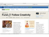 Bild: Kickstarter ist die derzeit größte Crowdfunding-Plattform im Web.