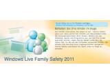 Bild: Die Kindersicherung Family Safety ist Bestandteil der Live Essentials 2011.