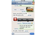 Bild: Kostenlose Textnachrichten und mehr: die Anwendung Whats App. (Bild: Whats App