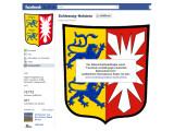 Bild: Die Landesregierung von Schleswig-Holstein ist auch weiterhin mit einer Fanpage auf Facebook vertreten.
