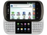 Bild: Das LG DoublePlay bietet zwei Bildschirme und eine geteilte QWERTY-Tastatur.
