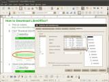 Bild: LibreOffice 3.4 unterstützt griechische Aufzählungs- und Listenpunkte.