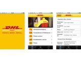 Bild: Die Logistik-Sparte DHL ist mit einem eigenen Miniprogramm vertreten.
