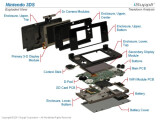 Bild: Die Marktforscher von iSuppli haben den Nintendo 3DS auseinandergebaut.