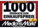 Bild: Media Markt Aktion: Insgesamt 1000 Produkte werden in den nächsten drei Wochen zum Einkaufspreis angeboten.