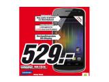 Bild: Media Markt bietet in seinen Filialen das Galaxy Nexus an.