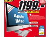 Bild: Media Markt statten den iMac mit acht Gigabyte Arbeitsspeicher aus.
