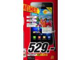 Bild: Mediamarkt bewirbt das Samsun Galaxy S2 im aktuellen Prospekt.