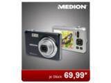 Bild: Die Medion-Kamera wird bei Aldi Nord in Schwarz oder Silber angeboten.